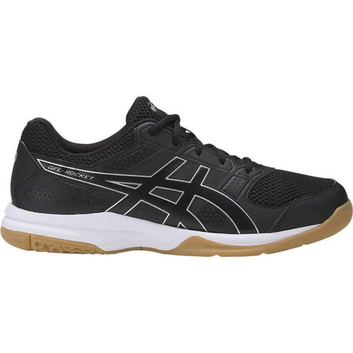 Asics Men's Gel-Rocket 8 Indoor Court Shoes in Black/Black/White - ATR Sports