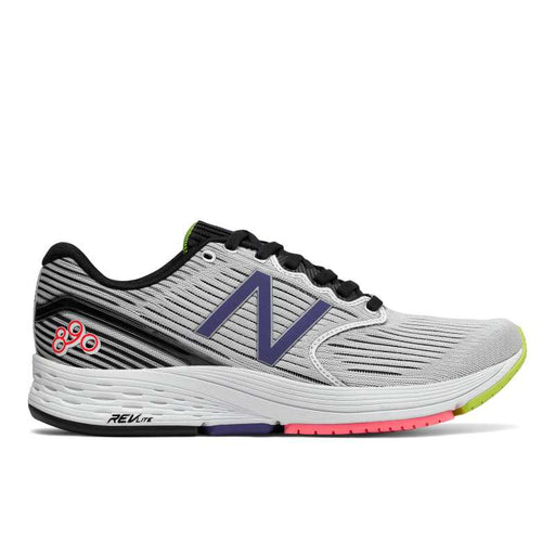 New Balance Women's W890WB6 Running Shoes in Black/White/Blue Iris - atr-sports