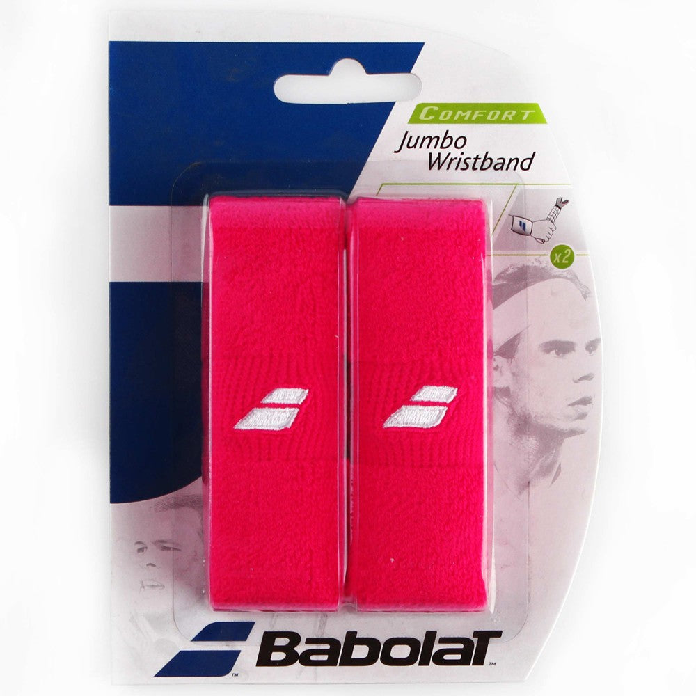 Babolat Jumbo Wristband in Red - ATR Sports