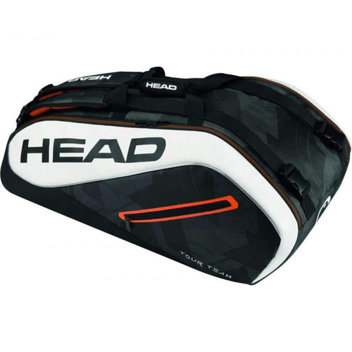 Head Tour Team 9R Supercombi Bag in Black/White - atr-sports
