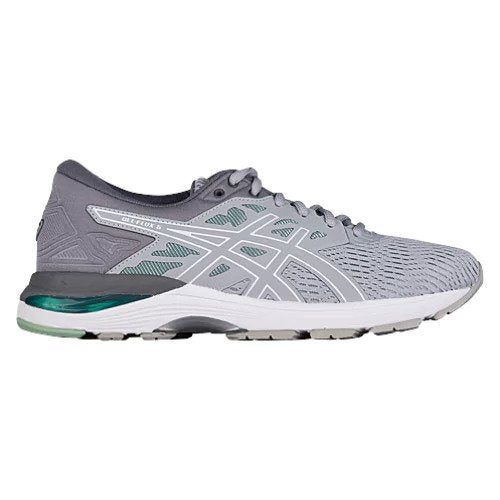 Asics Women's Gel-Flux 5 Width D Running Shoes in Blue Print/Soothing Sea - atr-sports