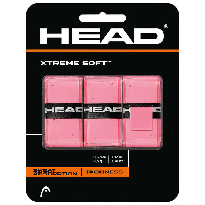 Head XTREME SOFT Overgrip (3 Pack) - atr-sports