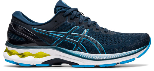 Asics Men's Gel-Kayano 27 Running Shoes in Reborn French Blue/Digital Aqua