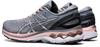 Asics Women's Gel-Kayano 27 Running Shoes in Sheet Rock/Pure Silver