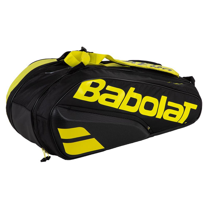 Babolat RHX6 Pure Aero 6 Raquet Bag Black/Yellow