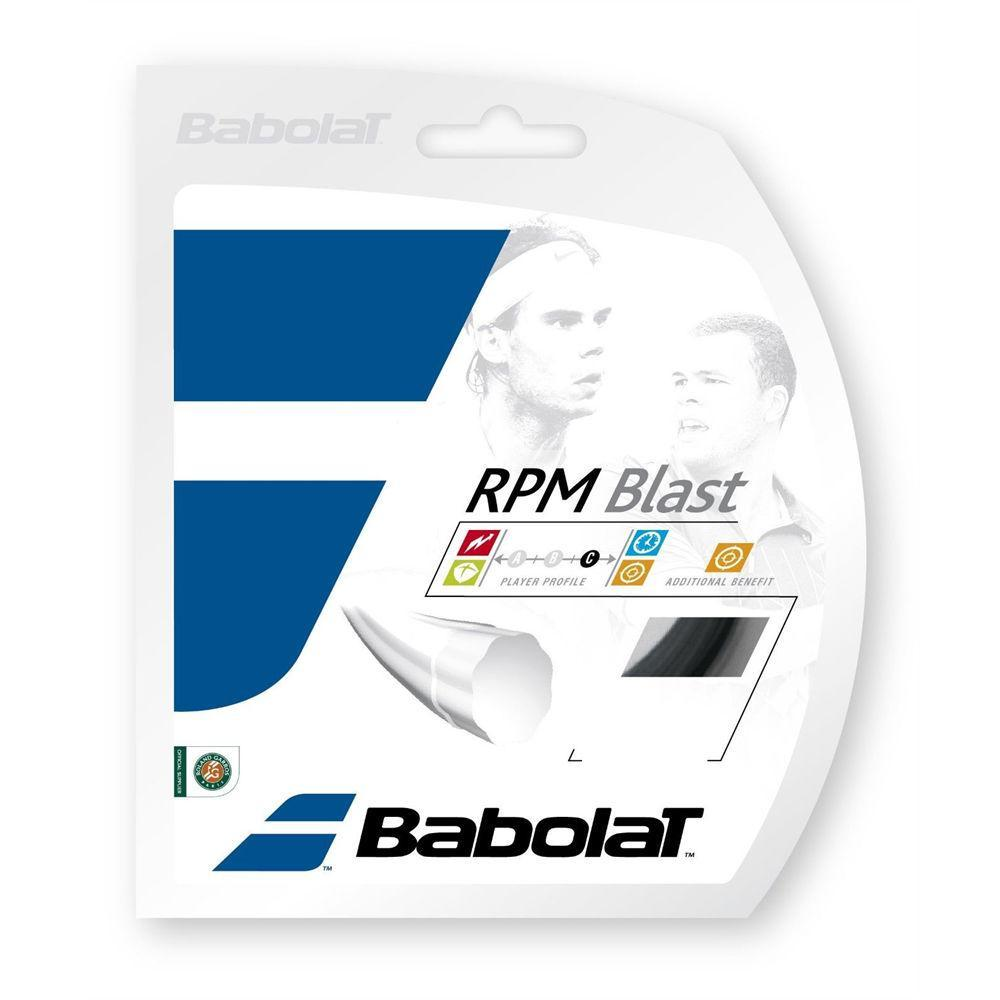Babolat RPM Blast Tennis String in Black