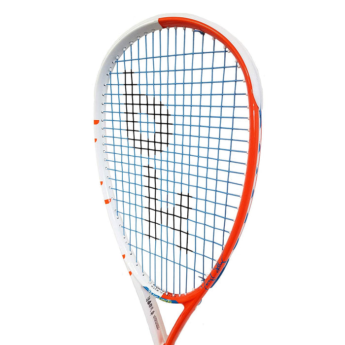 Black Knight Hex Maverick - Daryl Selby Edition Squash Racquet (White/Orange)