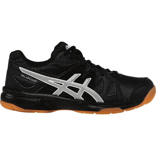 Asics  Kid's Gel-Upcourt Indoor Court Shoes in Black/Silver - ATR Sports
