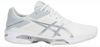 Asics Women's Gel-Solution Speed 3 Clay - Tennis Shoe White/Silver