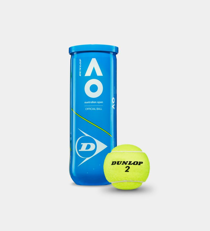 Dunlop Australian Open Official Tennis Ball 2020 (3 Ball Can)