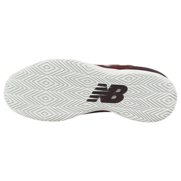 New Balance Women's Fresh Foam W1080BW9 Running Shoe in White with Black & Voltage Violet - atr-sports