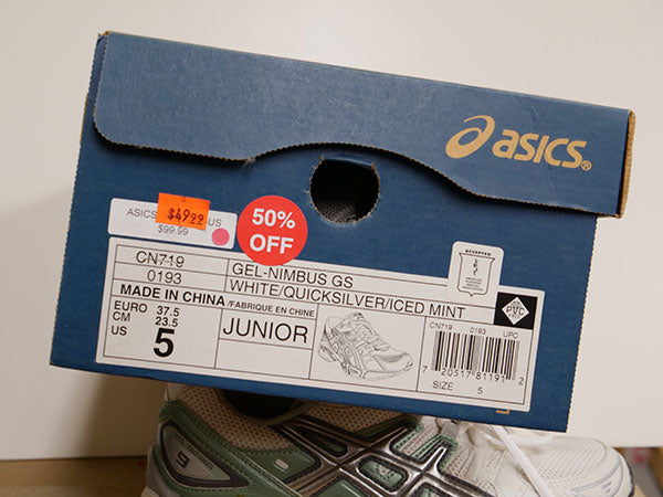 Asics Kid's Gel Nimbus Running Shoes 5 - atr-sports
