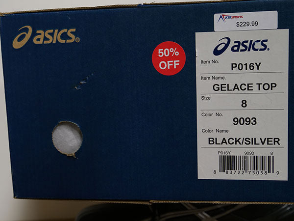OLD STOCK Asics Men's Gelice Top Shoes 8 - atr-sports