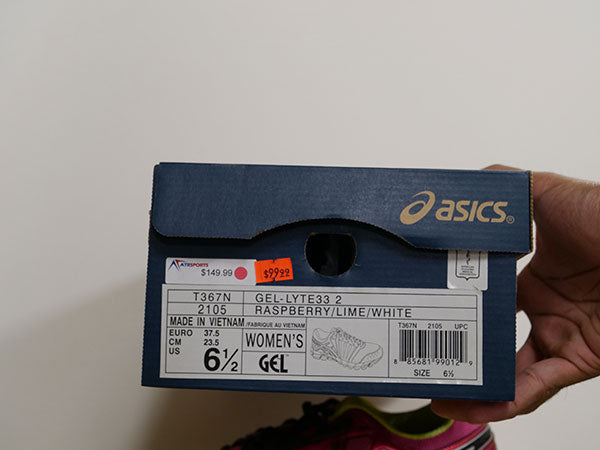 OLD STOCK Asics Women's Gel-Lyte33 Shoes 6 1/2 - atr-sports
