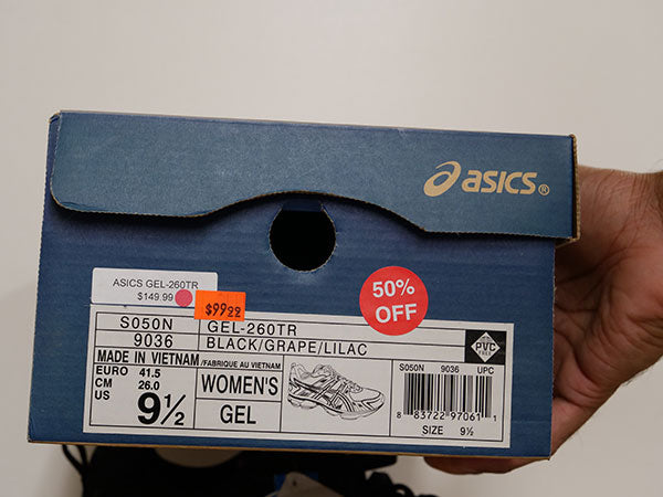 OLD STOCK Asics Women's Gel-260 Shoes 9 1/2