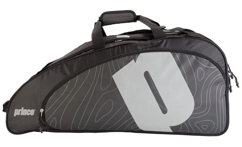 Prince Tour Reflective 6 Pack Bag - Black/Silver