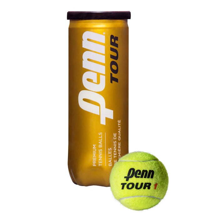 Penn World Tour Extra Duty - 3 Tennis Ball Can