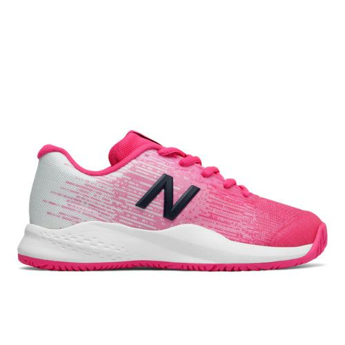 New Balance Kid's 996 V3 Tennis Shoes in Pink - atr-sports