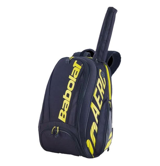 Babolat Pure Aero 21 Backpack in Black/Yellow