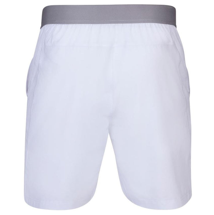 Babolat Men's Compete 7 Inch Tennis Short (White)