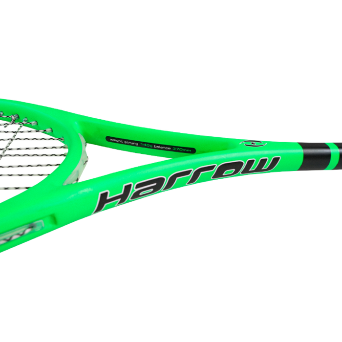 Harrow Vibe Squash Racquet 2020 Edition (Lime/Black) - atr-sports