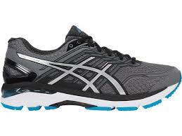 Asics Men's GT-2000 5 Running Shoes in Carbon/Silver/Island Blue