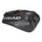 Head Tour Team 12R Monstercombi Bag in Black/Silver