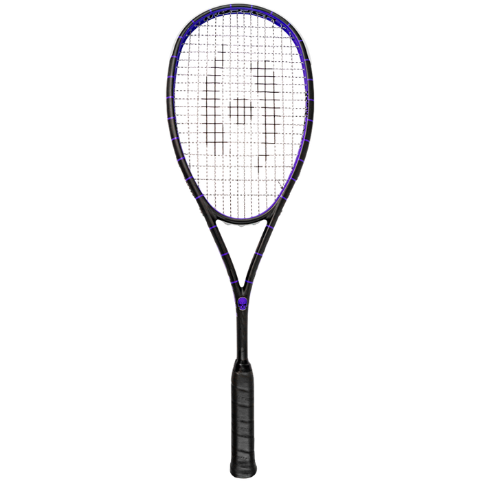 Harrow Misfit Vapor Squash Racquet in Black/Purple - atr-sports