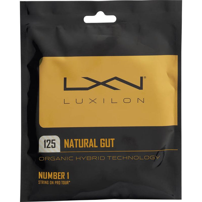 Wilson Luxilon Natural Gut 125 Tennis String - atr-sports