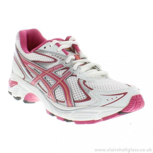 Asics Kid's GT-2160 GS Running Shoes in White/Fuschia/Orange - ATR Sports