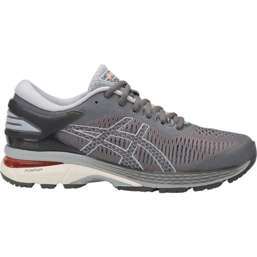 Asics Women's Gel-Kayano 25 Running Shoes Width 2A in Carbon/Mid Grey - ATR Sports