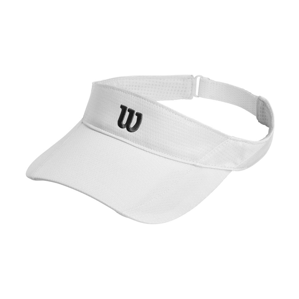 Wilson Rush White Knit Visor Ultralight - atr-sports