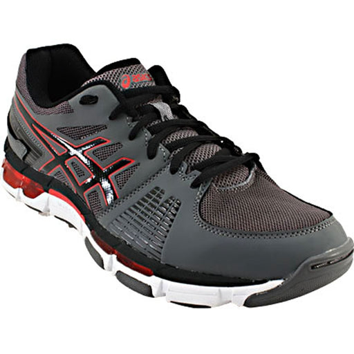 Asics Men's Gel-Intensity 3 Training Shoes in Titanium/Onyx/Red - atr-sports