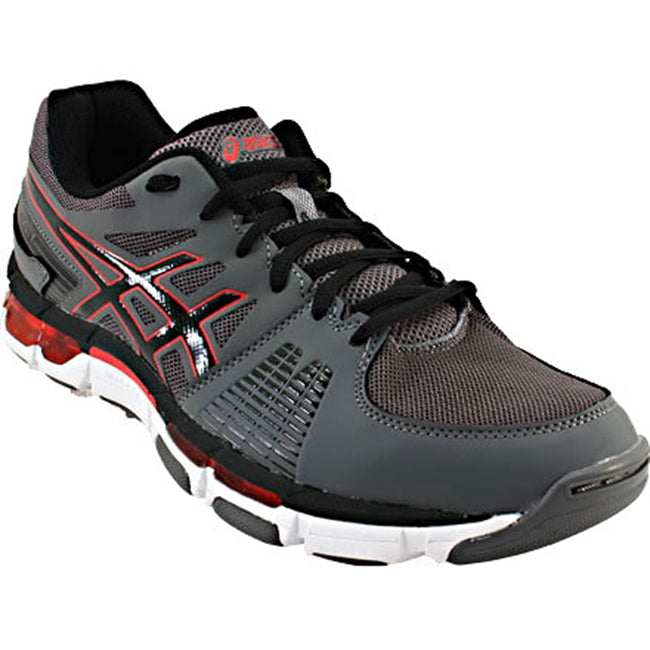 Asics Men's Gel-Intensity 3 Training Shoes in Titanium/Onyx/Red - ATR Sports