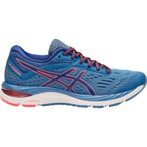 Asics Women's Gel-Cumulus 20 Width D Running Shoes in Azure/Blue Print - atr-sports