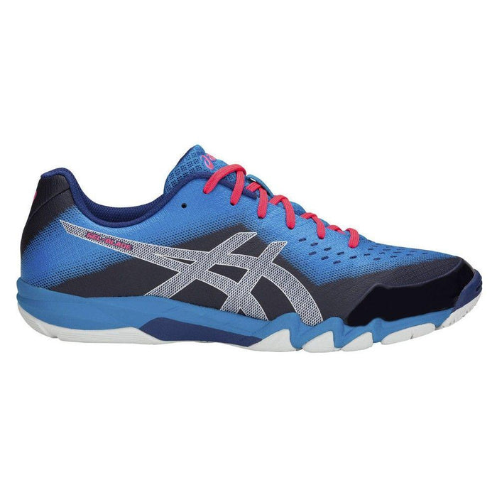 Asics Men's Gel-Blade 6 Indoor Court Shoes in Blue Print/ Race Blue - atr-sports