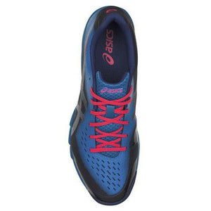 Asics Men's Gel-Blade 6 Indoor Court Shoes in Blue Print/ Race Blue-ATR Sports
