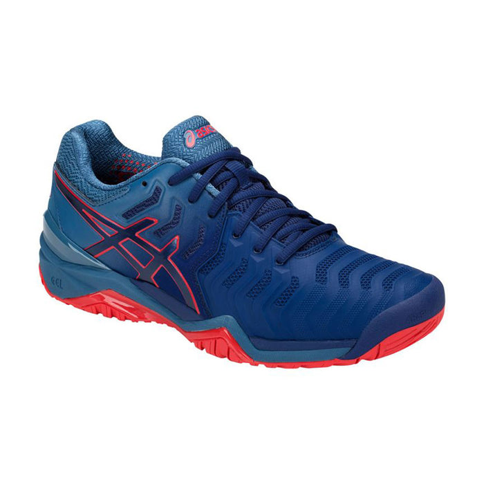 Asics Men's Gel-Resolution 7 Tennis Shoes in Blue Print/Blue Print - atr-sports