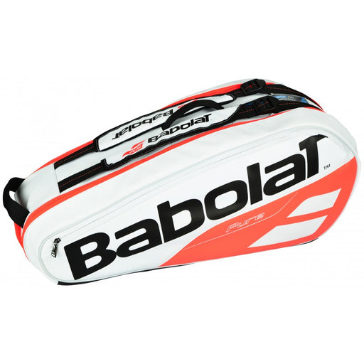 Babolat RH X 6 Pure Strike Racquet Bag in White Red - atr-sports