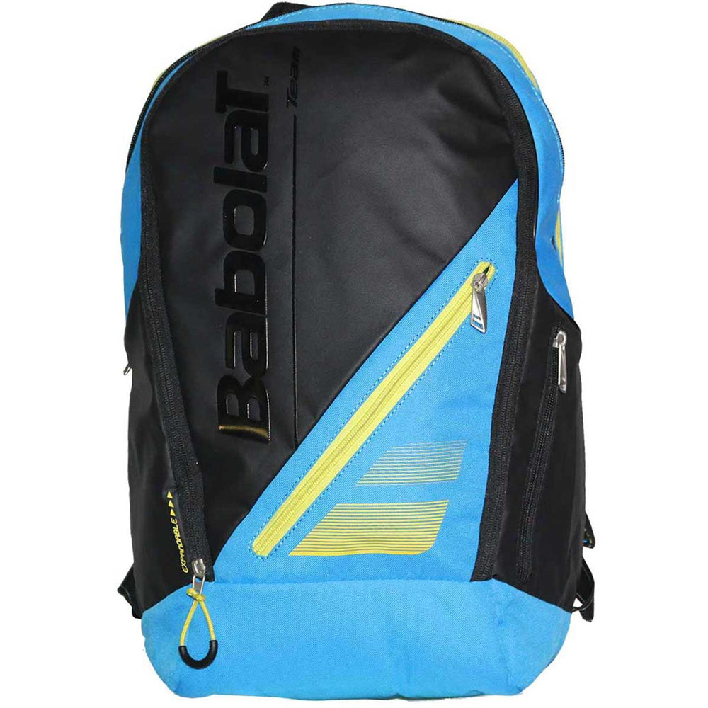 Babolat RH Expandable Team Line Backpack in Blue/Yellow