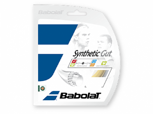 Babolat Synthetic Gut 16 Tennis String in Natural Packet