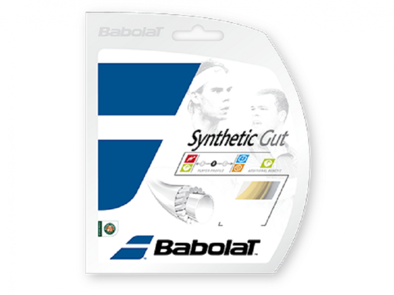 Babolat Synthetic Gut 17 Tennis String in Natural Packet