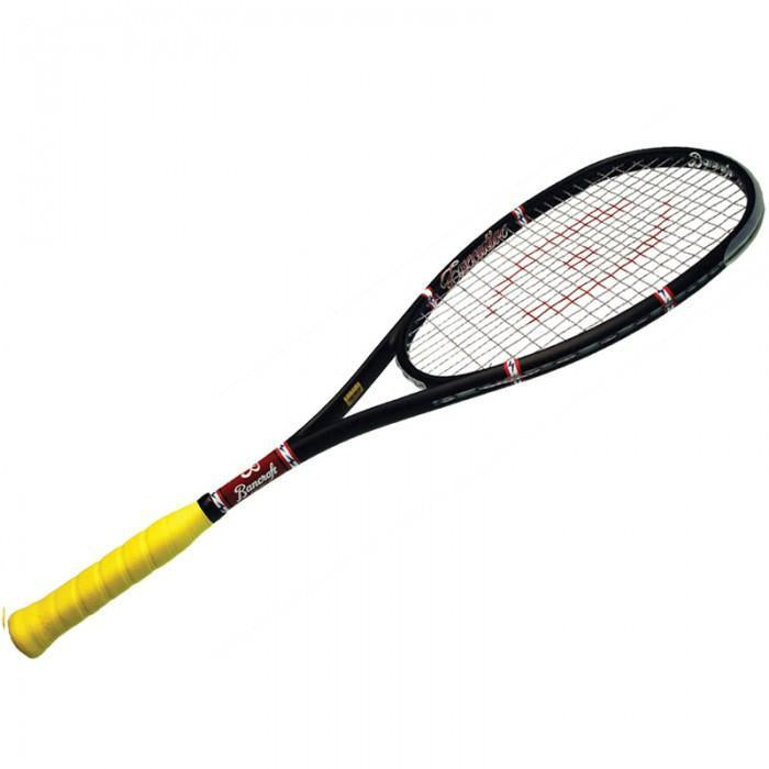 Harrow Bancroft Executive Squash Racquet in Black - atr-sports