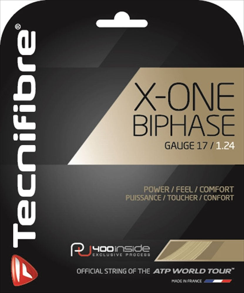 Tecnifibre X-ONE Biphase 17 Tennis String