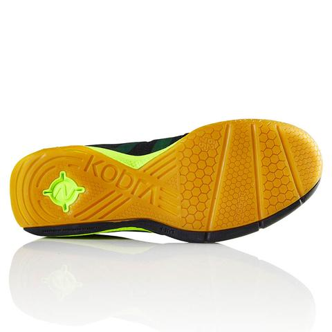 Salming Men's Kobra Indoor Court Shoes (Black/Yellow) - atr-sports