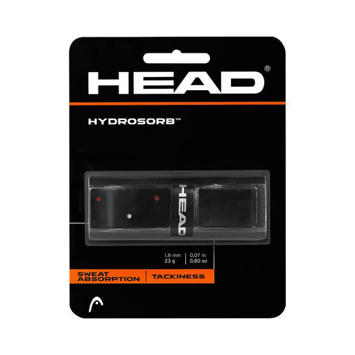 Head Hydrosorb Replacement Grip in Black - ATR Sports