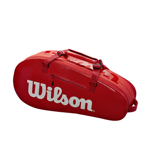 Wilson Super Tour 2 Compartment Small Racquet Bag in Infared - atr-sports