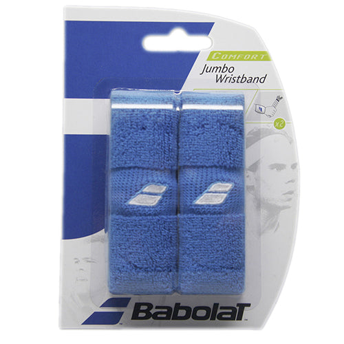 Babolat Jumbo Wristband in Blue - atr-sports
