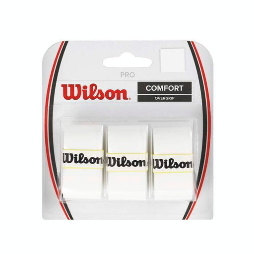 Wilson Pro Overgrip in White - atr-sports