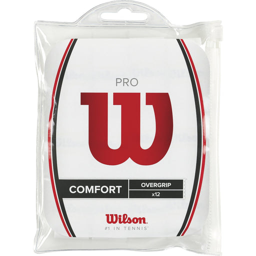 Wilson Pro Overgrip 12 pack White - atr-sports